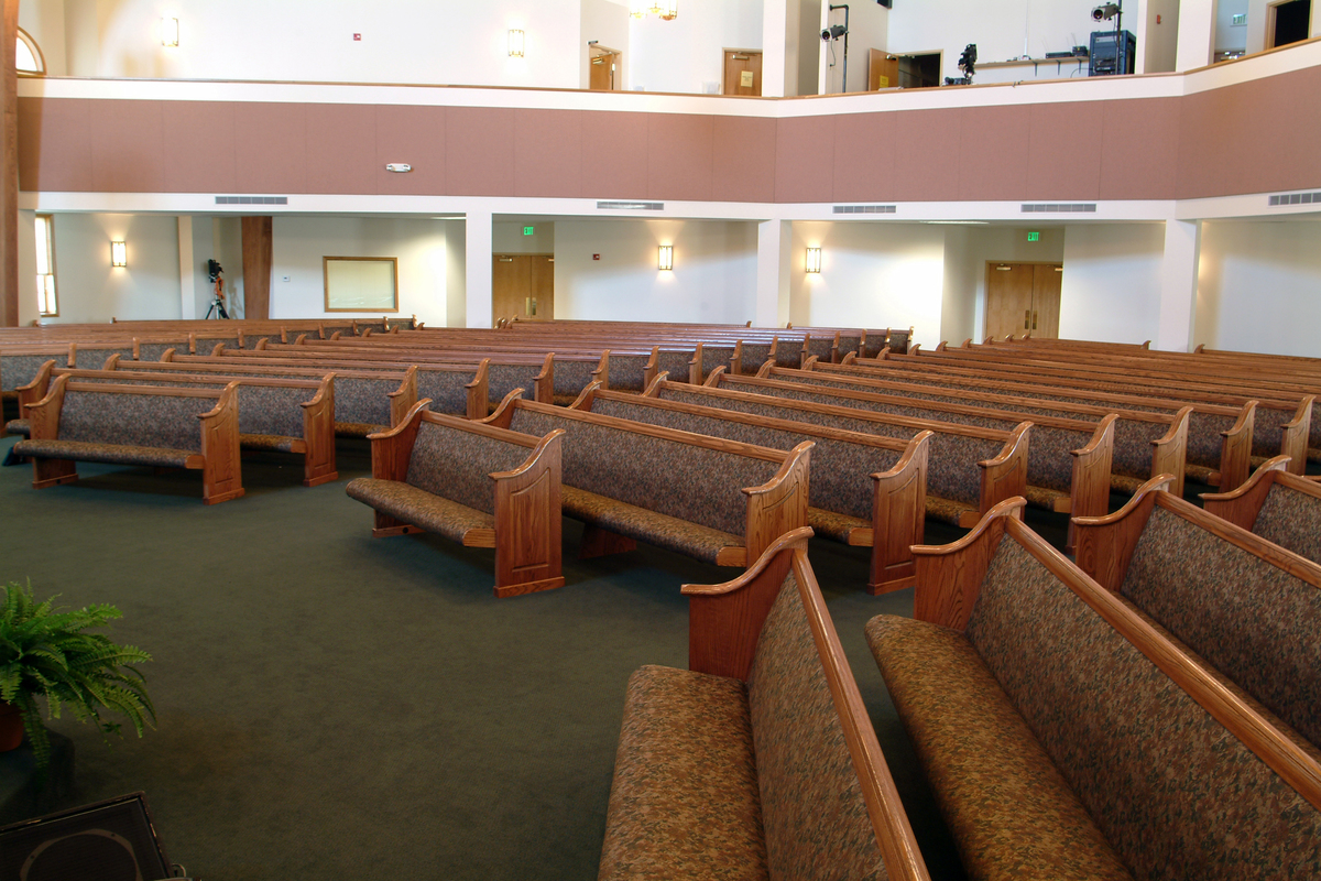 First Baptist Church - North Vernon, KY pew project