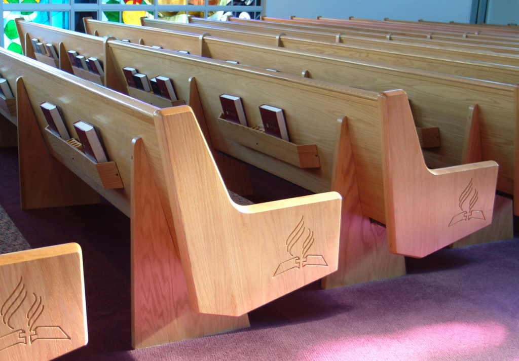 North Philadelphia Seventh-Day Adventist Church church pew project
