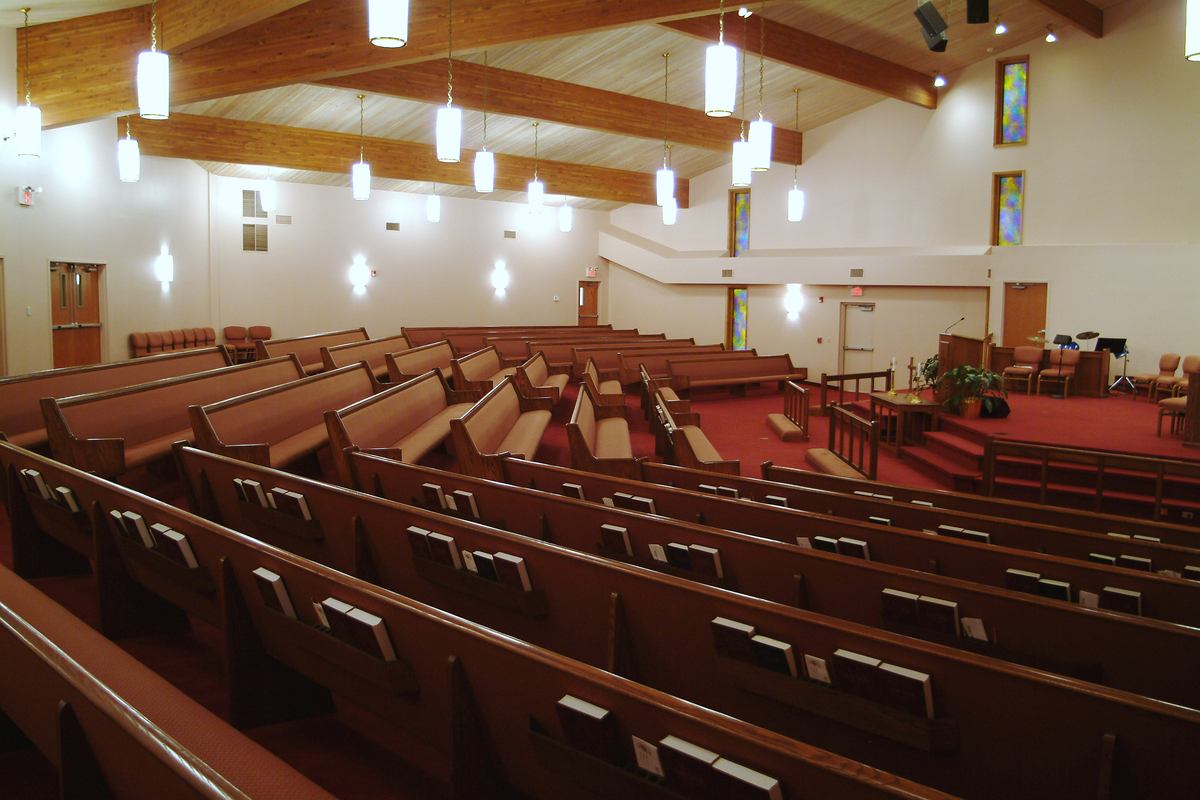 Painesville Nazarene Church pew project