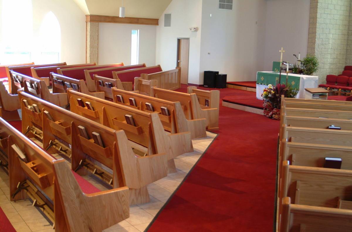 church pew project