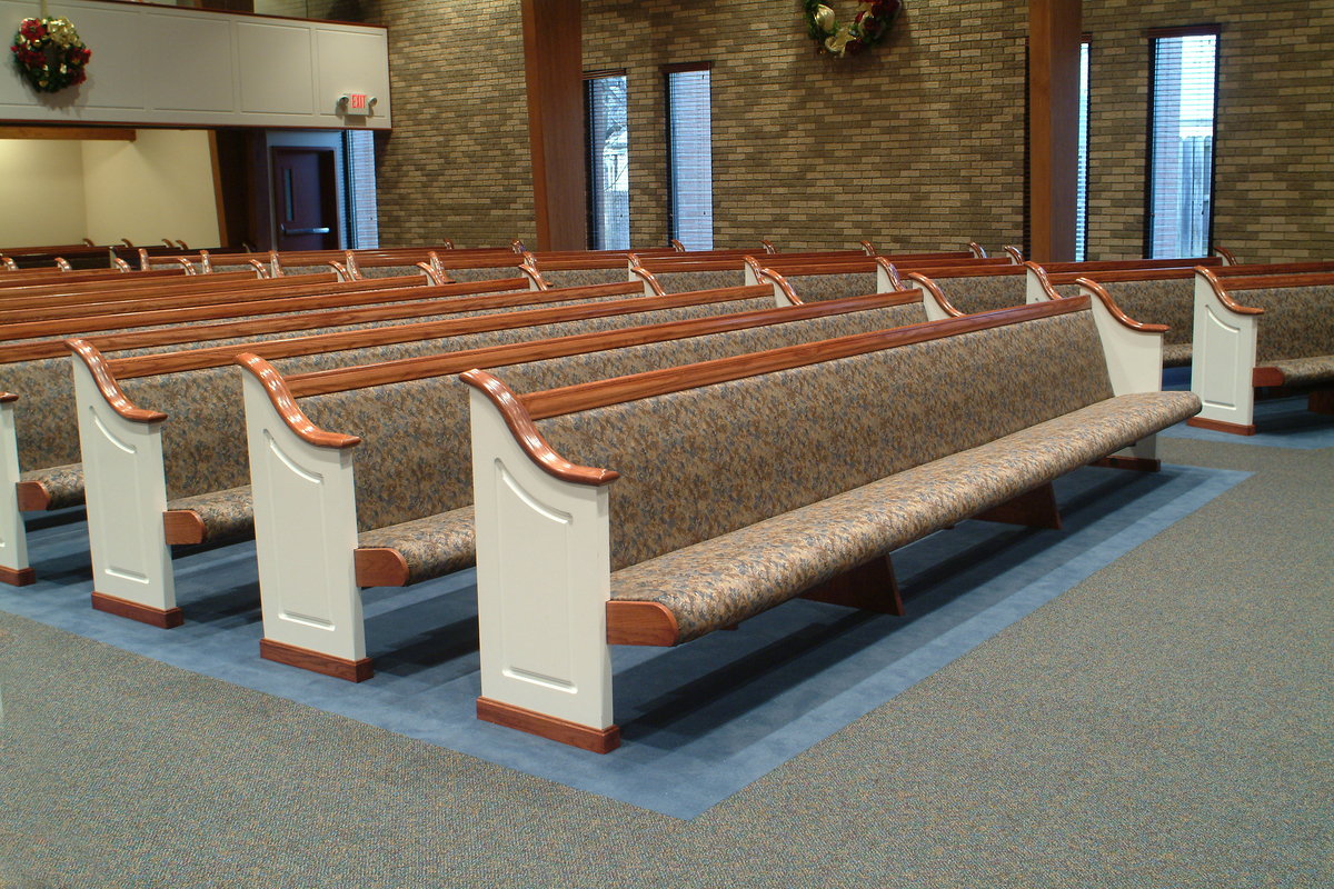 Vandalia Christian Tabernacle church pew project