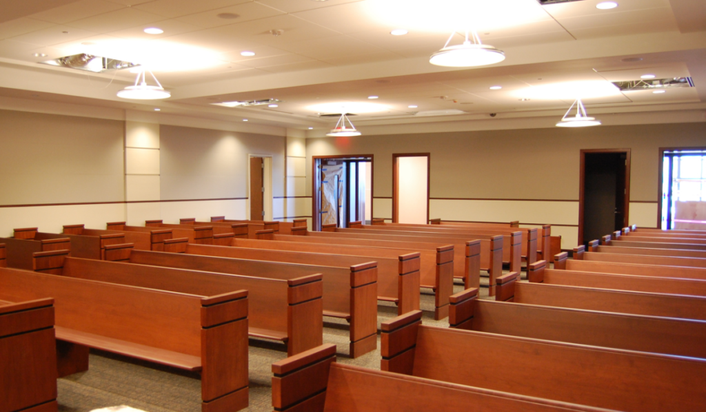 courtroom seating project