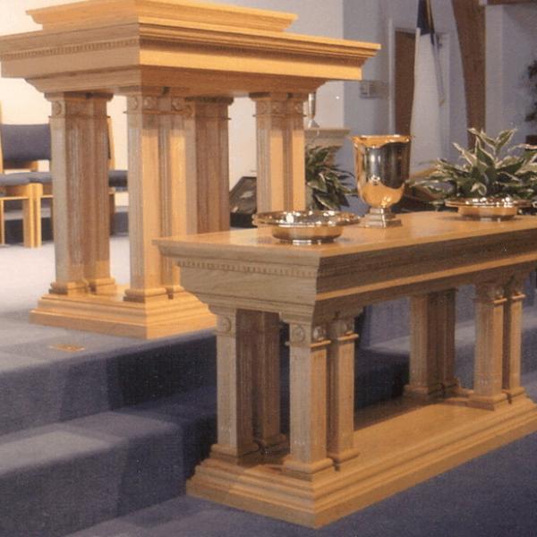 Church Pulpit Sets Furniture For Sale Kivett S Fine Church Furniture